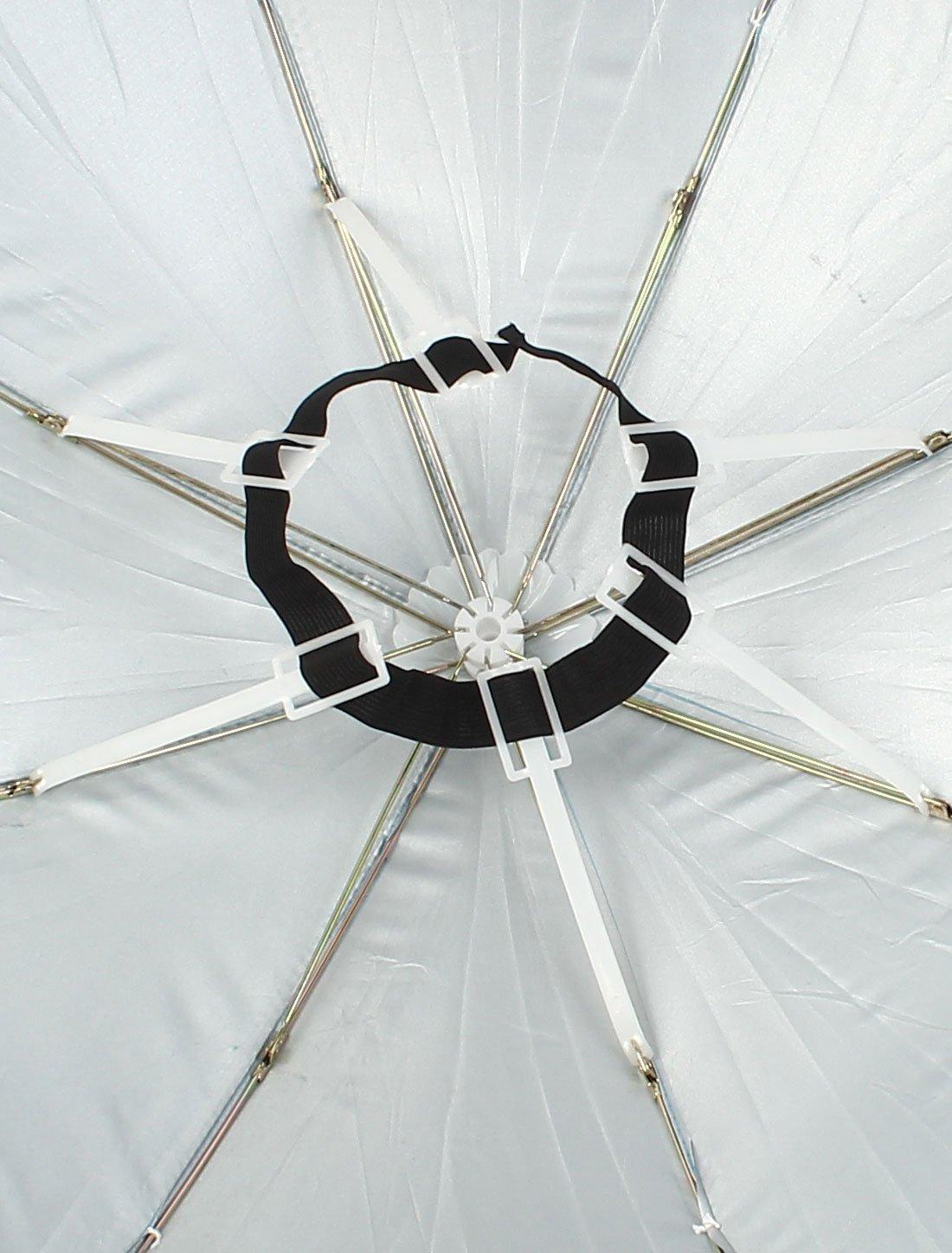Amazon.com : eDealMax Pesca plegable de Plata gris elástico diadema paraguas Sombrero Azul claro : Sports & Outdoors