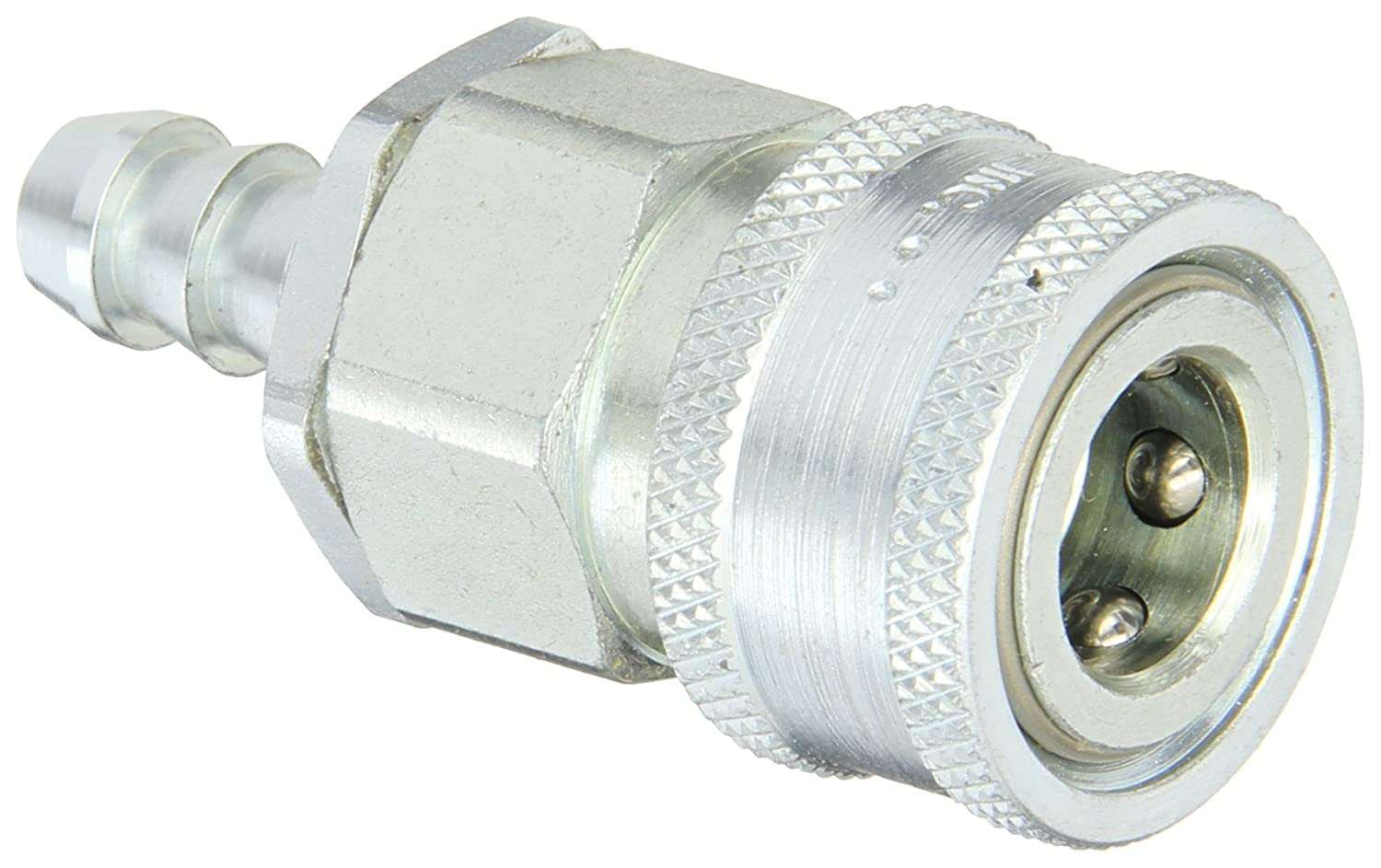Snap-Tite VHC6-6H Zinc-Plated Steel H-Shape Quick-Disconnect Hose Coupling 3//8 Hose ID x 3//8 Coupling Size 3//8 Hose ID x 3//8 Coupling Size Sleeve-Lock Socket