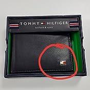 1a5db9466 tommy hilfiger Men 's de piel Billetera portafolios, Negro, Talla ...