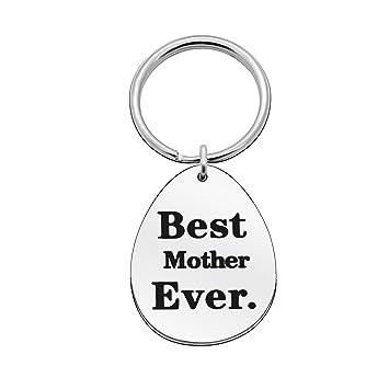 Llavero de madre con anillo, regalo para el día de la madre ...