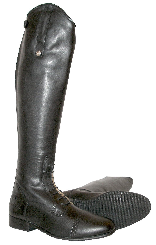 Mark Todd Botas de equitación (piel, con cremallera) 40 corto / Standard|negro
