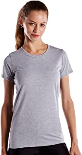 product image for US Blanks Women's Classic Pure Cotton Crew Neck T-Shirt, Made in USA