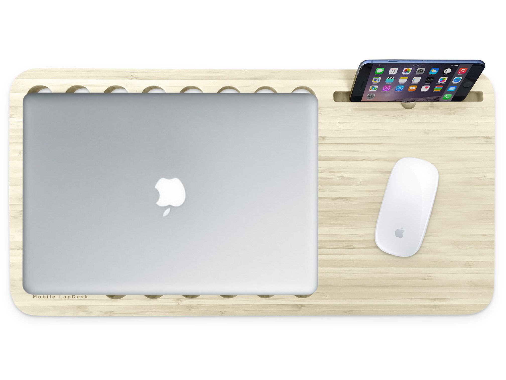 Slate 2.0 with Desk Space - Mobile LapDesk (For 11'' to 13'' Laptops)