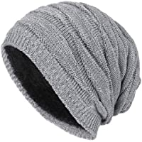 Ukerdo Knit Hat Cap Warm Wool Fashion Winter Outdoor Sports Men Women Windproof Ski Cycling Snow Hats Accessories
