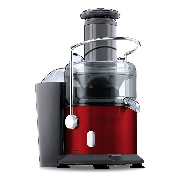 Big Boss 800-Watt Power Juicer, Red