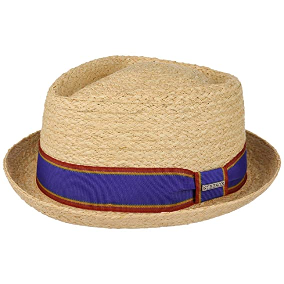 ec1eddcc522f8a Stetson Salango Diamond Raffia Hat Women/Men | Summer Beach Sun with  Grosgrain Band Spring-Summer: Amazon.co.uk: Clothing