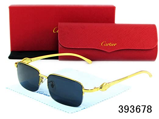 78b22747e5 Cartier Men And Women Fashion Sunglasses Glasses 7-006-1. Roll over image  to zoom in