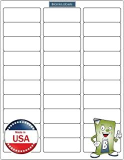 amazon com mflabel 100 sheets 30 up easy to peel address labels 1