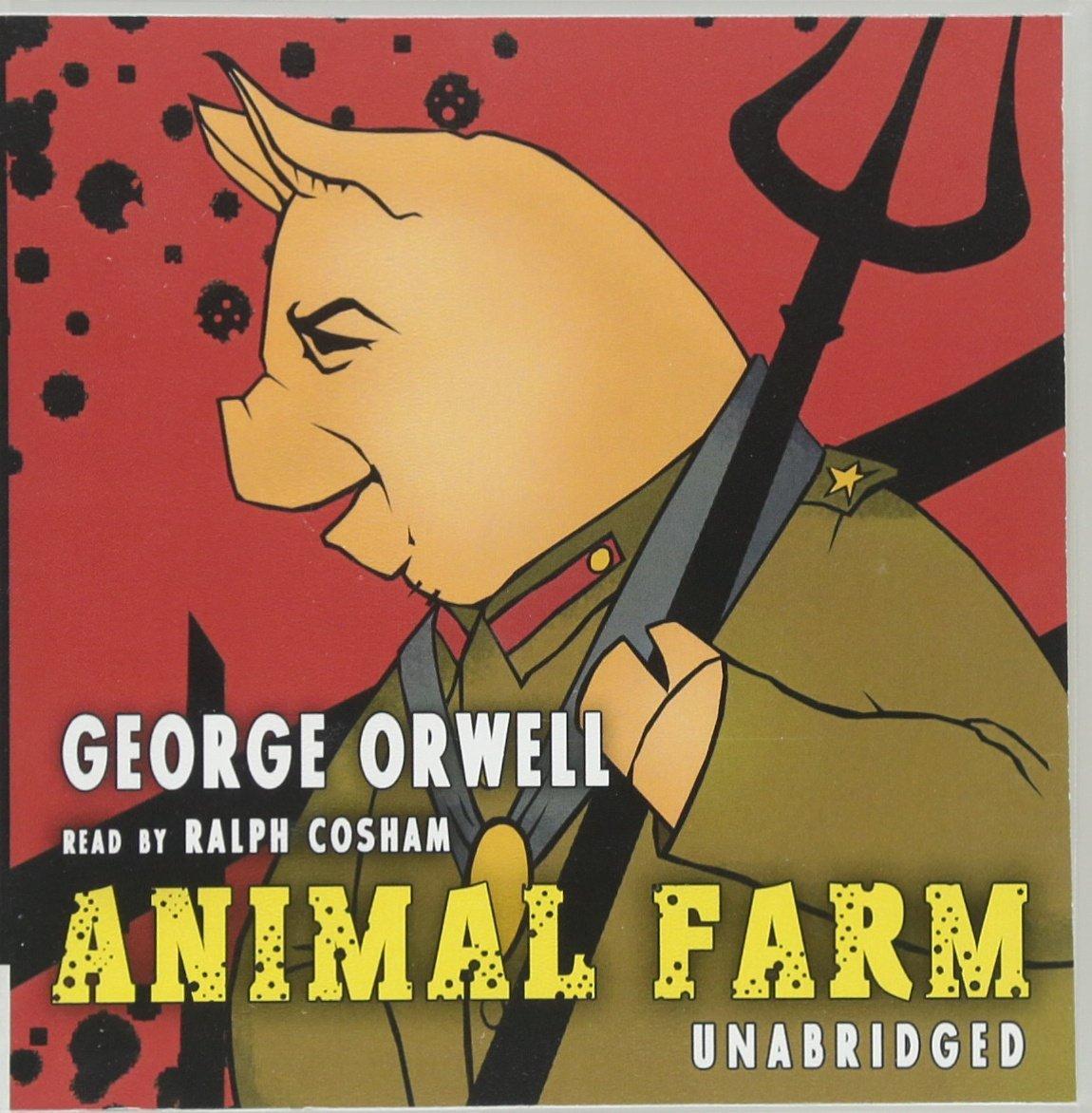 تحليل شخصيات رواية مزرعة الحيوانات لجورج ارويل Animal Farm بالعربي والانجليزي 71wJ+9C83vL