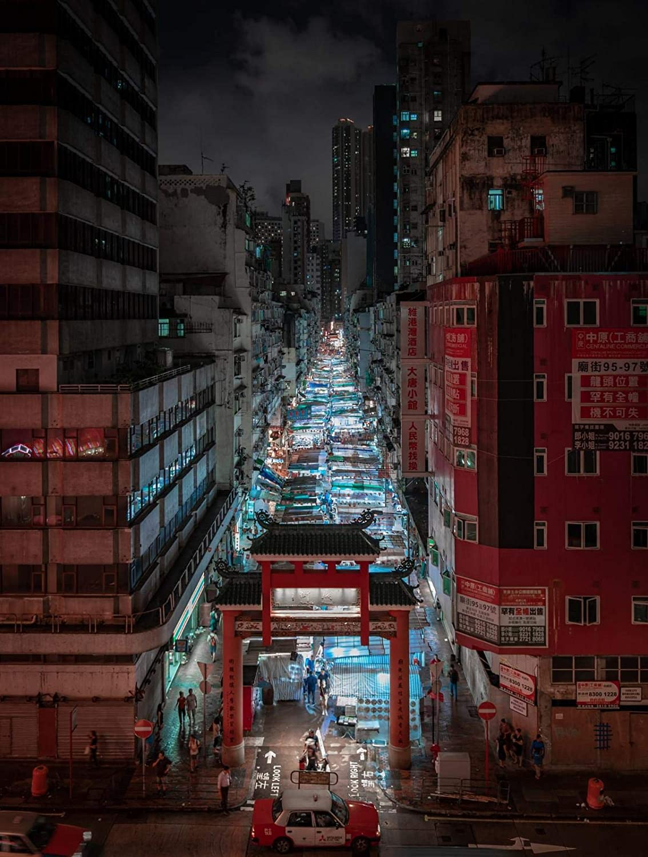 NOBRAND Bazar de Hong Kong - Pintura por números para Adultos Lienzo