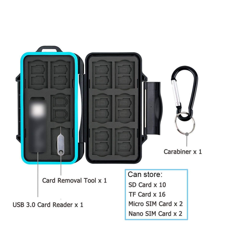 Tarjetero para Tarjeta de Memoria SD Micro Sdphone Nano Sim ...