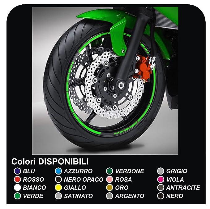 Pegatinas llantas ruedas de motos tiras adhesivas para rueda ...