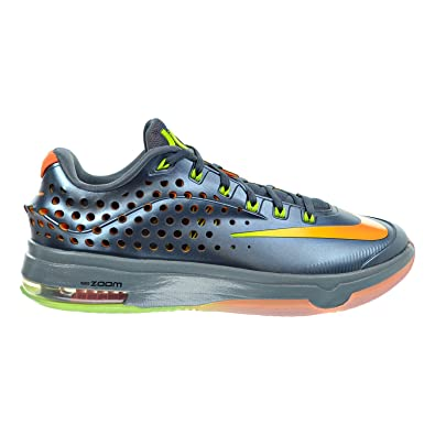 37ee0df4842c Nike KD VII Elite Men s Shoes Blue Graphite Volt Bright Citrus Dove Grey