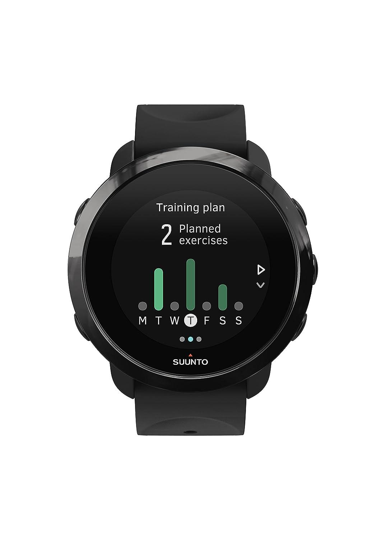 Suunto 3 Fitness - Reloj Multisport con pulsómetro incorporado y la función de conectividad GPS de la aplicación Suunto, Unisex, Adulto