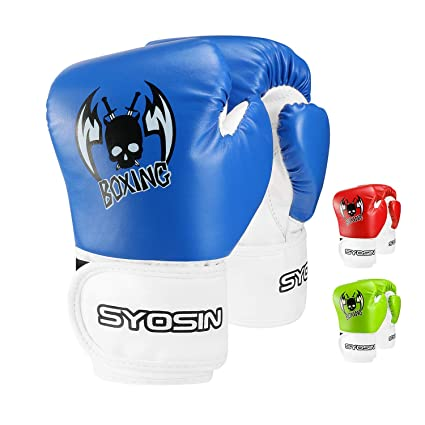 SYOSIN Piel sintética Guantes de Boxeo para niños(para niños ...