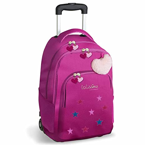 af155fcb18 zaino scuola trolley LOLISIMA by DIS2: Amazon.it: Valigeria