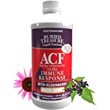 Buried Treasure ACF Extra Strength Extreme Immune Support with Elderberry Echinacea Vitamin C and Herbal Blend for…