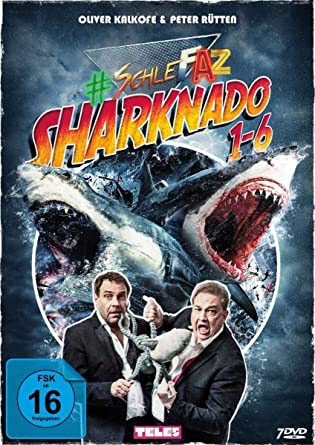 SchleFaZ - Sharknado 1-6 [Alemania] [DVD]: Amazon.es: Kalkofe ...