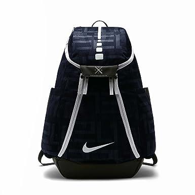48e3a22cd018 Nike Hoops Elite Max Air Team 2.0 Graphic Basketball Backpack Blue BA5260-491   Amazon.co.uk  Clothing