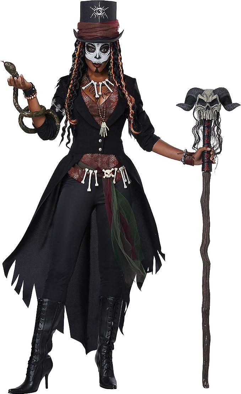 Generique - Disfraz hechicera vudú Mujer M (40/42): Amazon.es ...