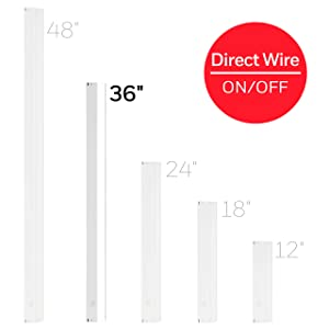 Honeywell 36in. On/Off Direct LED Fixture, Warm White, Energy Efficient, Hard Wire, Cabinet, Accent Light, Kitchen, 44113
