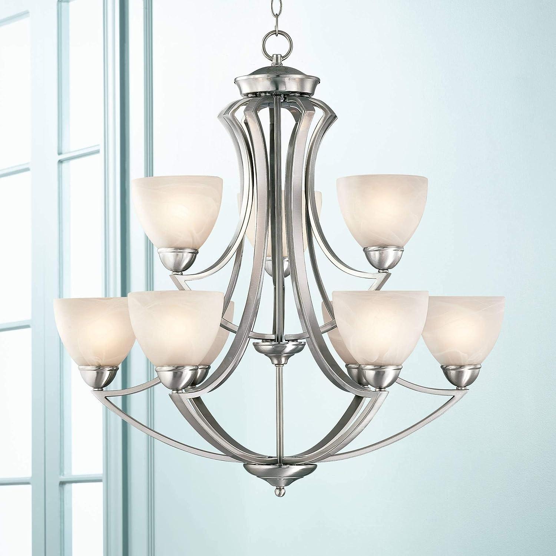 Possini Euro Design Milbury Nine Light 30 Wide Chandelier – Possini Euro Design