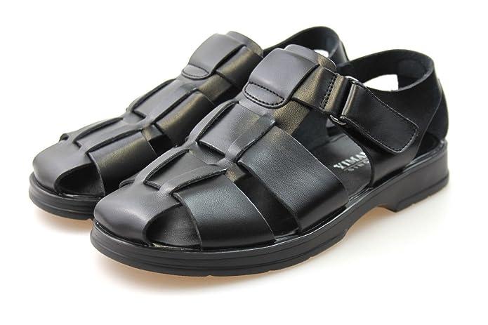 Mens Leather Walking Fisherman Summer Sandals UK Sizes 6 7 8 9 10 11 12 13:  Amazon.co.uk: Shoes & Bags