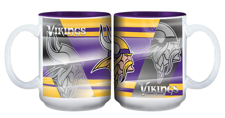 Memory Company Minnesota Vikings 15oz Shadow Ceramic Mug