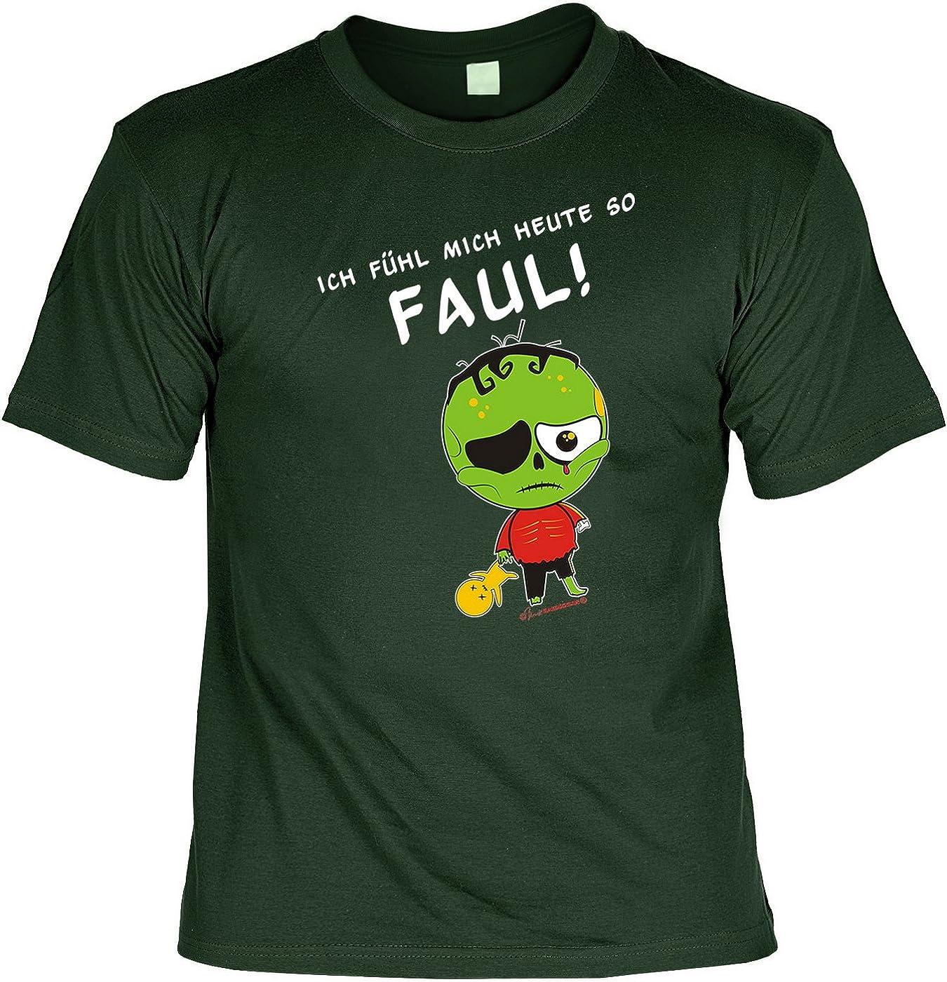 Ich Fühl Mich Heute so Faul Sprüche Fun T-Shirt - mit