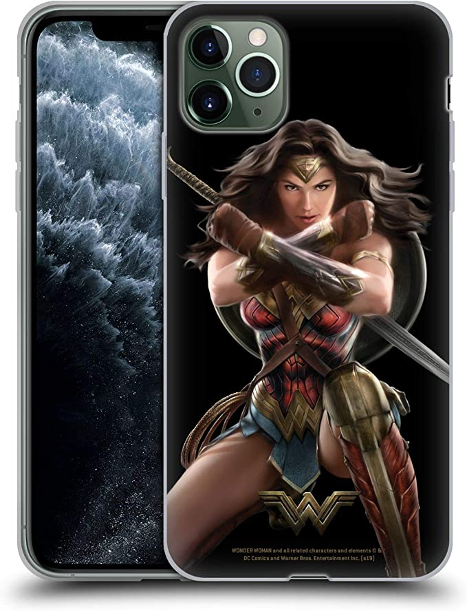 Amazon.com: Head Case Designs Officially Licensed Wonder Woman Movie Bracelets of Submission Character Art Soft Gel Case Compatible with Apple iPhone 11 Pro Max