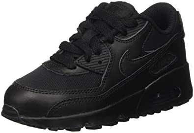 super popular 41d6d 3a311 Nike Air Max 90 Mesh Bp Shoes For Kids, Black, Size 30 EU