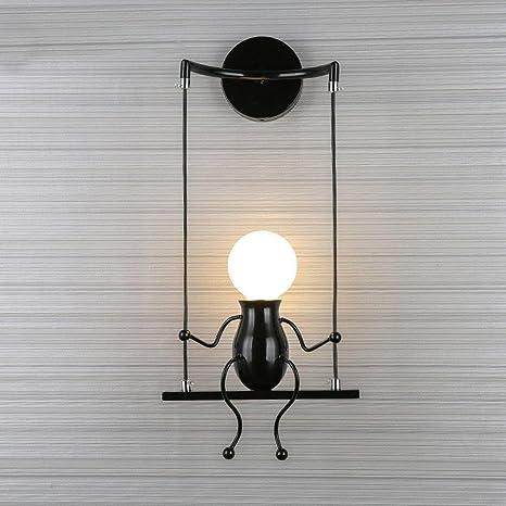 Lampe Murale Moderne Mode Applique Murale Créatif Simplicité Design  Appliques pour Chambre d\'enfant Couloir Décoratives Eclairage Lampe Douille  E27*1 ...