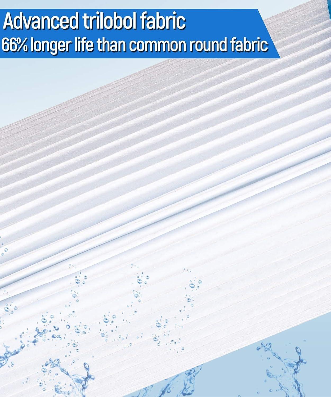 2 Packs Future Way Pool Filter Cartridge Replacement for Intex Type B