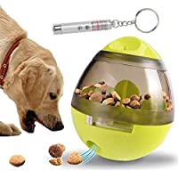 IQ Treat Ball Interactive Toys - Dog Puzzle Cat Treat Dispenser Food Bowl, Improves Digestion, Physical and Mental…