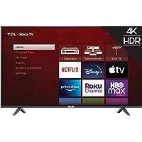 "TCL 55"" Class 4-Series 4K UHD HDR Smart Roku TV – 55S435, 2021 Model"