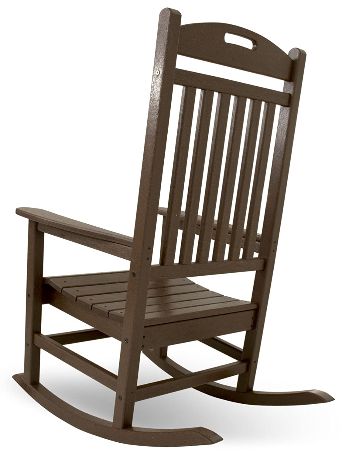 Outdoor furniture all chairs rocking chairs jefferson outdoor rocking - Amazon Com Trex Outdoor Furniture Yacht Club Rocker Chair Vintage Lantern Patio Rocking Chairs Patio Lawn Garden