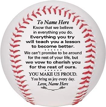 Amazon.com: Béisbol personalizado personalizado – Papá a ...