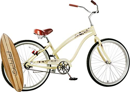 Fito Anti-Rust Aluminum Frame, Modena II Alloy Single 1-Speed Women s 26 Urban Beach Cruiser Bike Bicycle