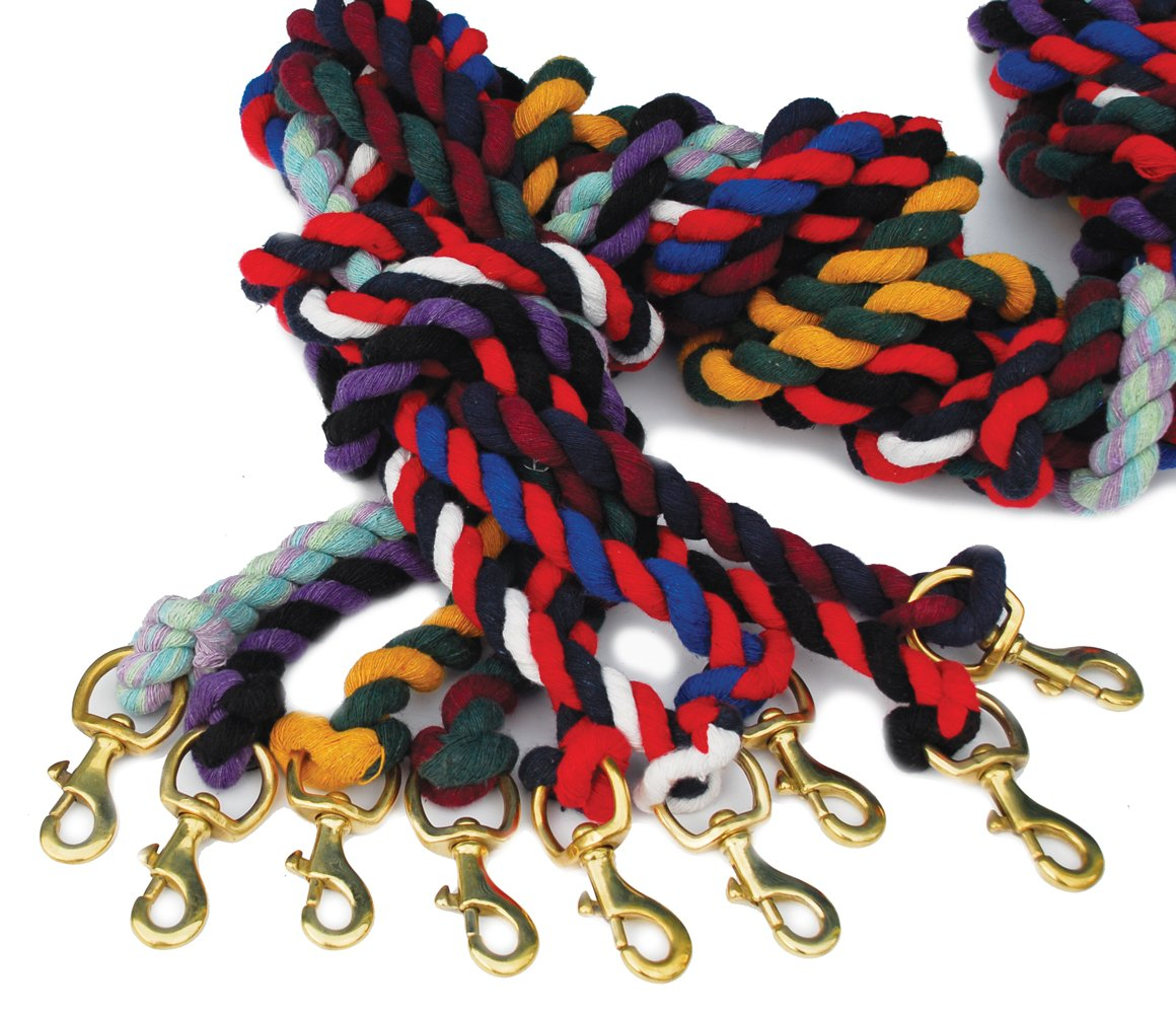 Red Rhinegold Horse Lead Rope 7ft long also good for dogs