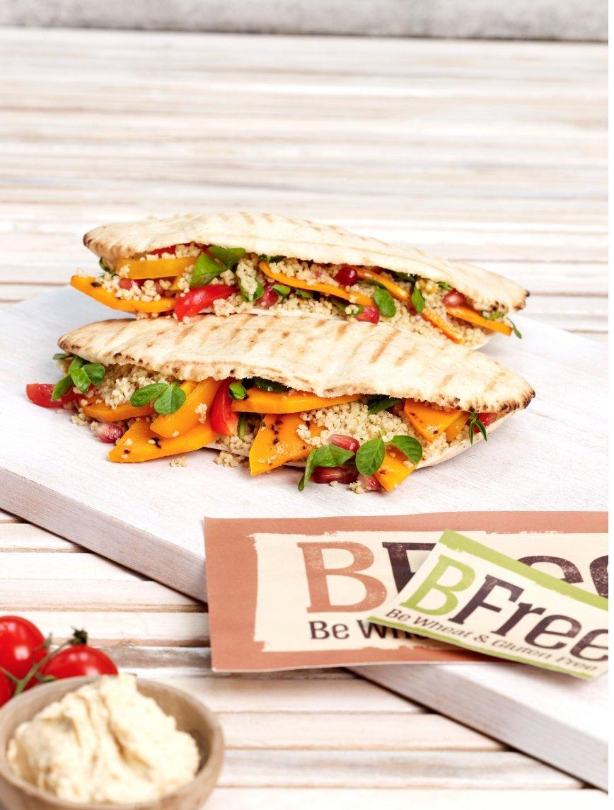 Bfree Gluten Free Stone-Baked Pita Bread, 7.76 Oz [3 Pack] by Bfree Foods