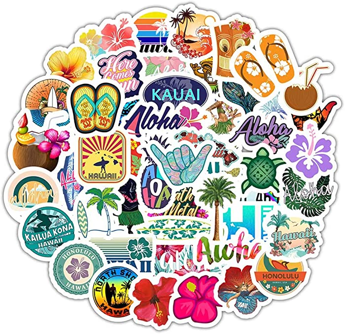 Top 9 Hawaii Laptop Stickers
