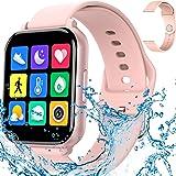 Smartwatches Reloj Inteligente Deportivo,Pulsera Inteligente,Reloj Deportivo Pantalla Táctil Completa,Pulsera Actividad Imper