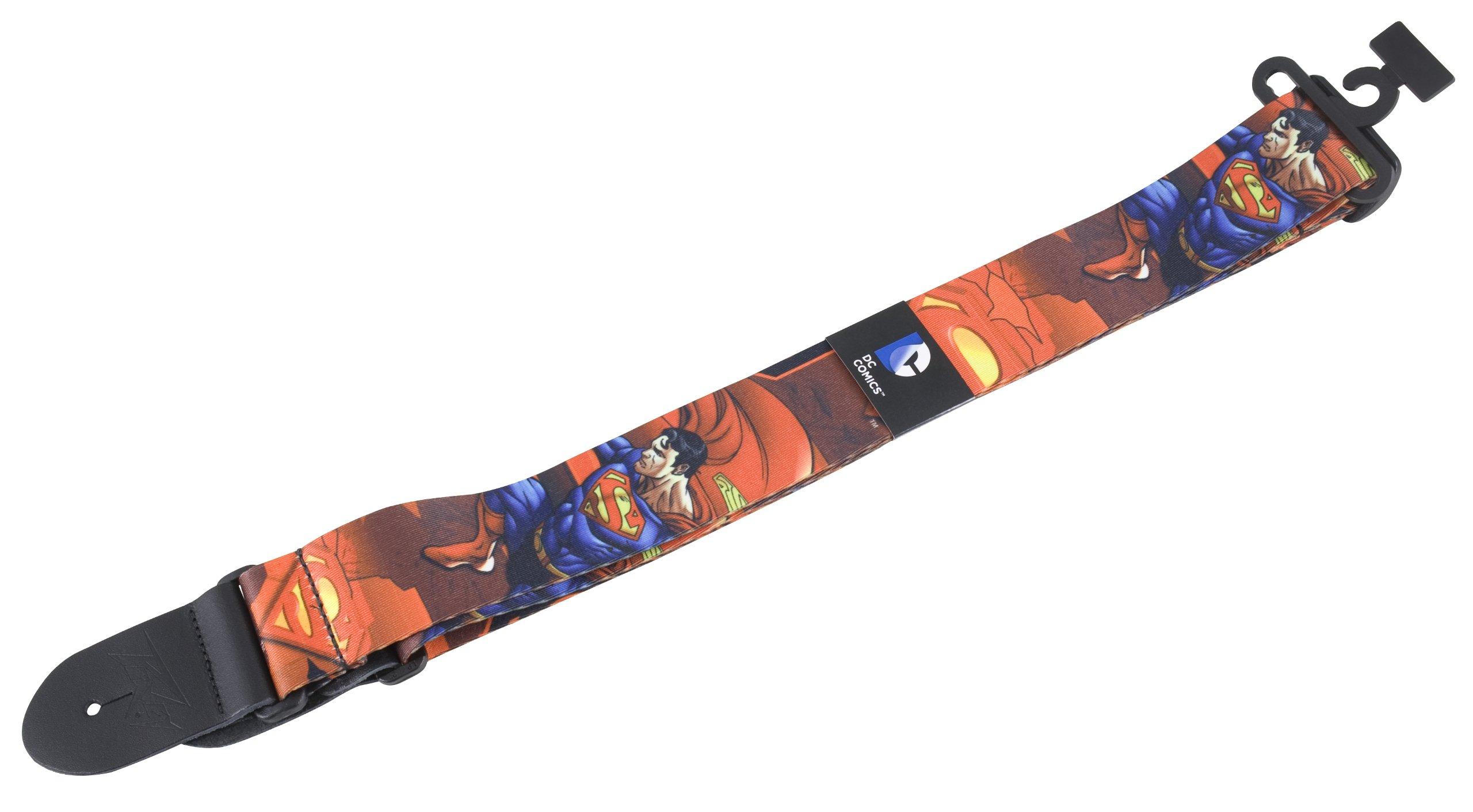 Peavey 03020890 DC Superman Guitar Strap by Peavey