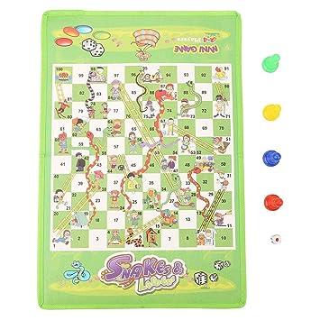 Flying Chess Toy Set Avión Chess Carpet Kids Educativo Juego de ...