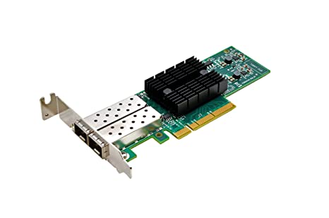 Synology Dual-Port 10GB SFP+ PCIe 3.0 X8 Ethernet Adapter (E10G17-F2)