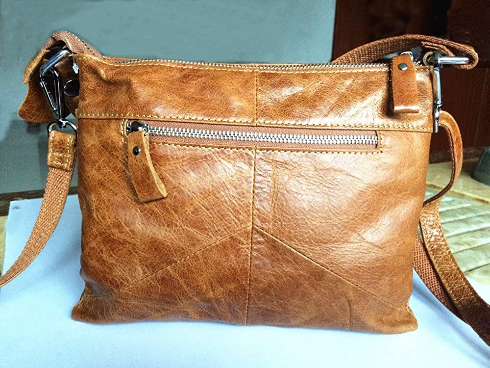 4ad1ba90ae4f NIGEDU Women Messenger Bags Soft Genuine Leather Crossbody Shoulder Bag  Small Real Leather Handbags MJ097