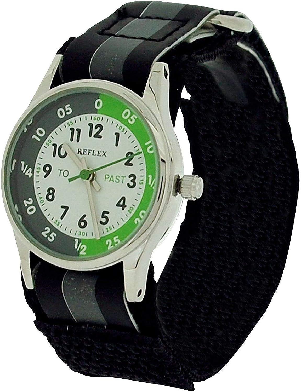 Reflex Reloj Analógico para Niños de Cuarzo con Correa en Tela REFK0003
