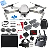 DJI Mavic Pro Platinum 4K Camera Quadcopter Drone 2 Extra Batteries Super Pack