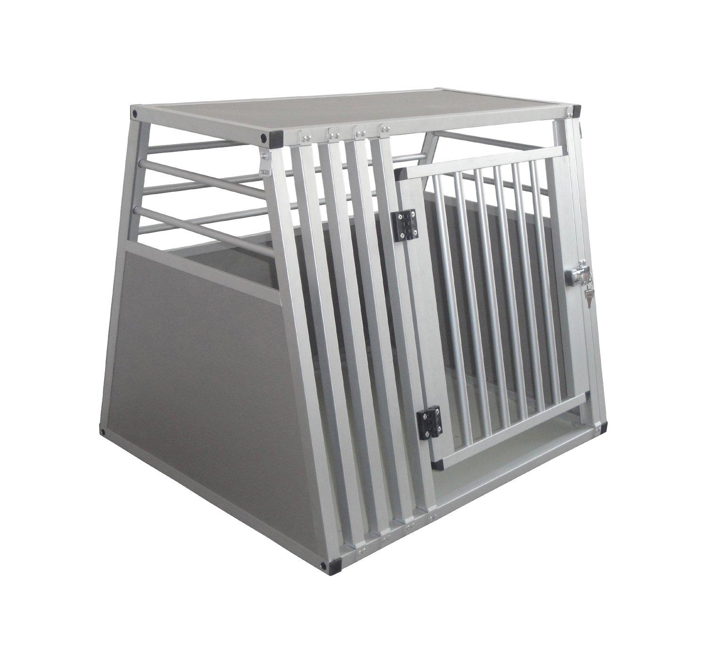 Cool Runners Pro Series Secure Aluminum Dog Pet Travel Car Crate Medium (25.5 H x 25.5 L x 31.5 W)