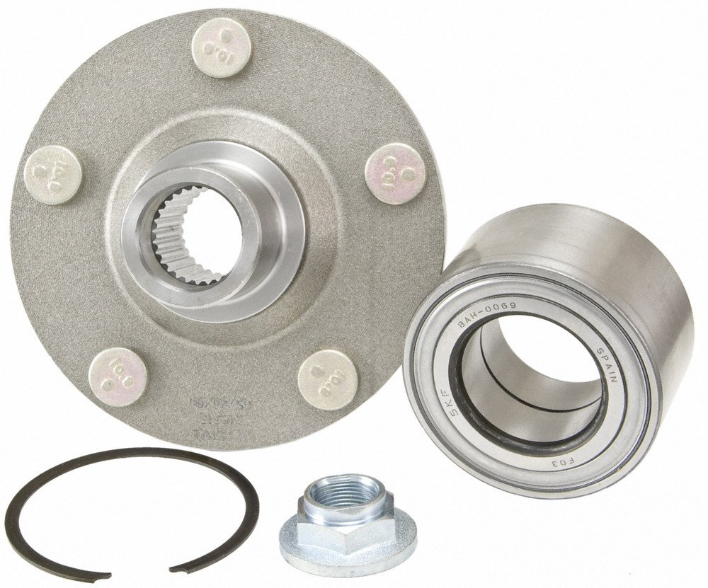 2008 fits Ford Escape Front Wheel Bearing and Hub Assembly - Two Bearings Note: 4WD, FWD Included with Two Years Warranty Left and Right